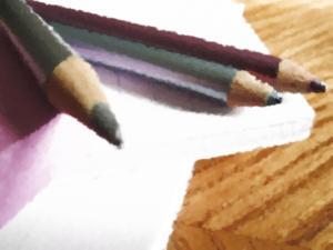 Blue Writing Tools