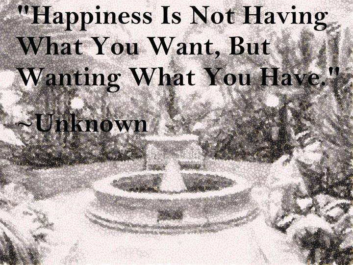 Bountiful Fountain Quote