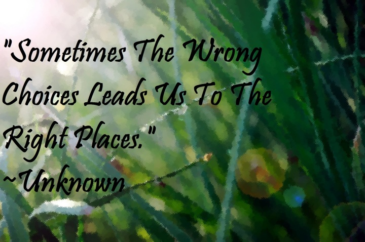 watercolor grass quote